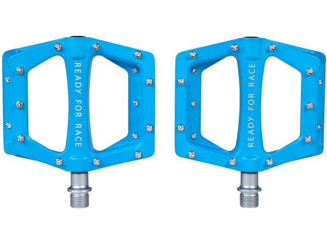 Cube RFR Flat Race Pedalen, blue